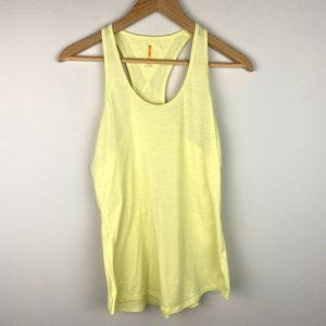 Lucy Athletic Yellow Small Tank